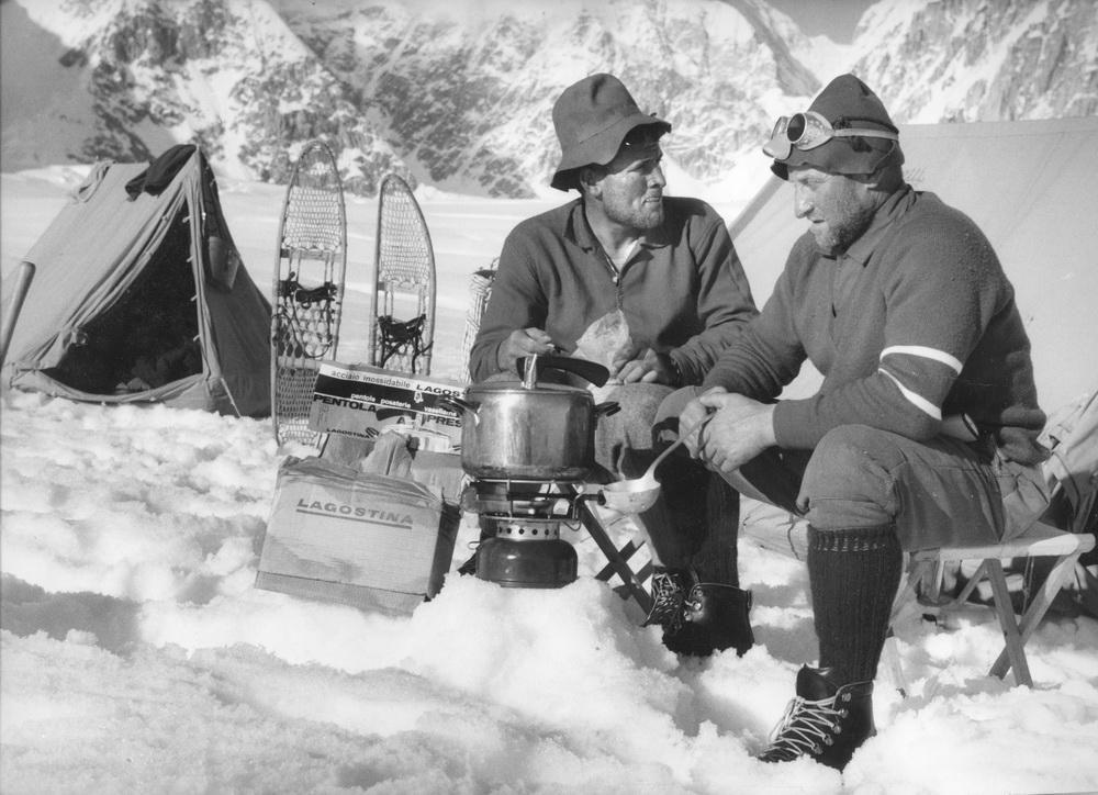 Spedizione Cassin McKInley 1961: Gigi Alippi e Jack Canali